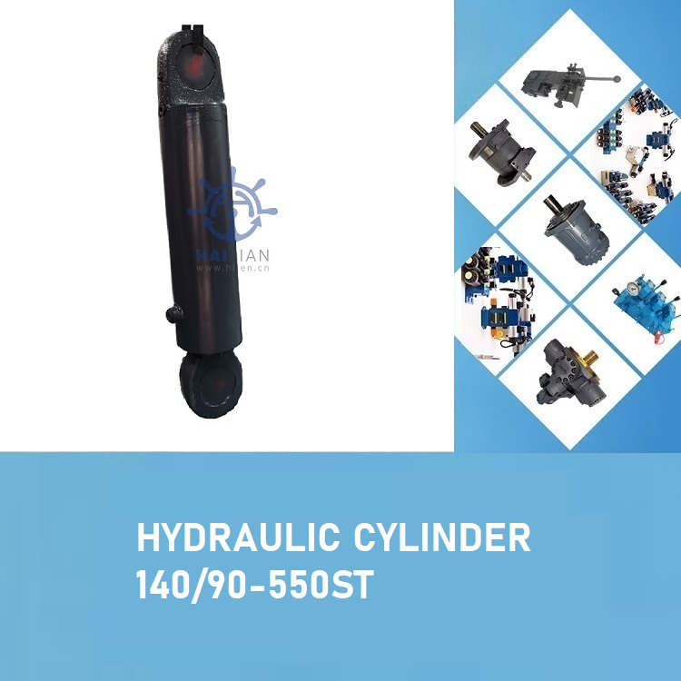 STTS HATCH COVER HYDRAULIC CYLINDER 140-90-550ST Part No.662-1063 CODE 383-9300