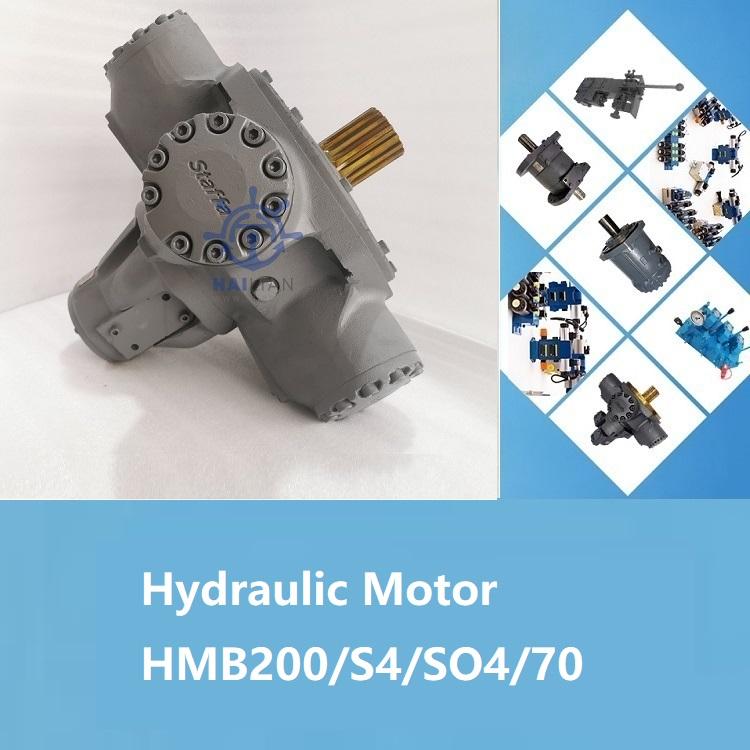 STARBOARD WINDLASS COMPLETE HYDRAULIC MOTOR HMB200/S4/SO4/70