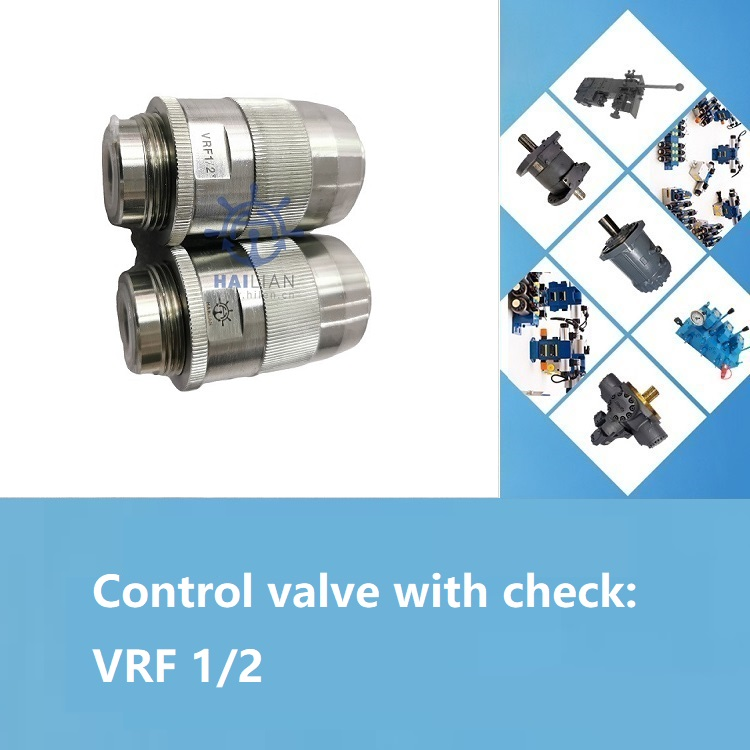 Control valve with check VRF 1/2