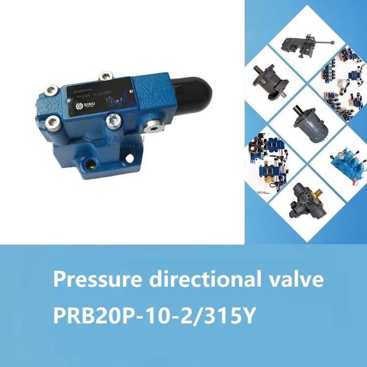 Pressure directional valve PRB20P-10-2-315Y for deck ship spares