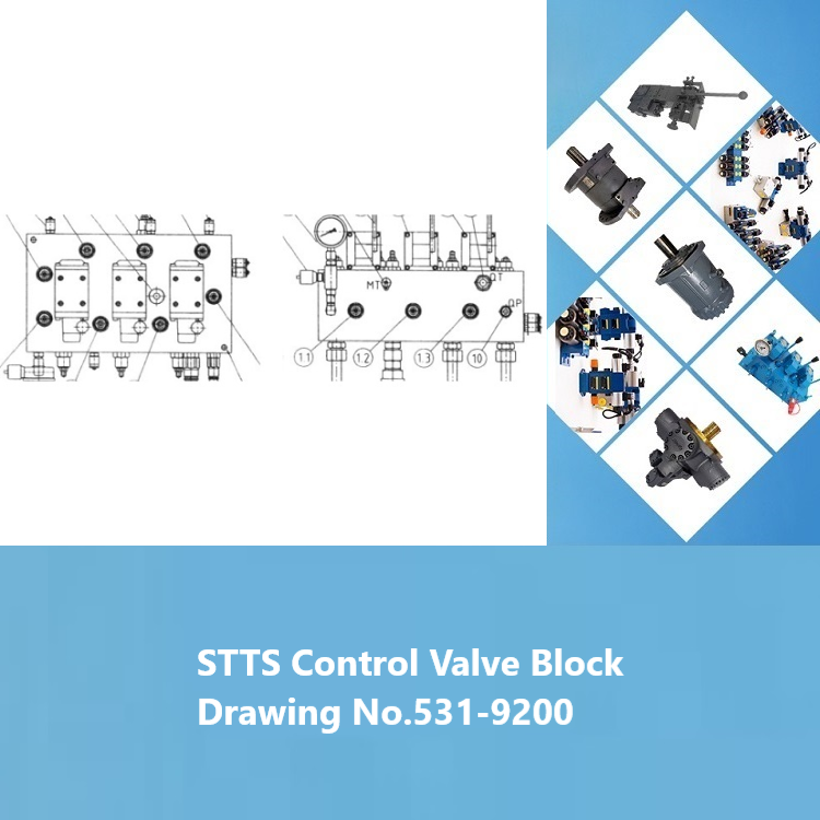 STTS Control Valve Block Drawing No.531-9200 HATCH COVER