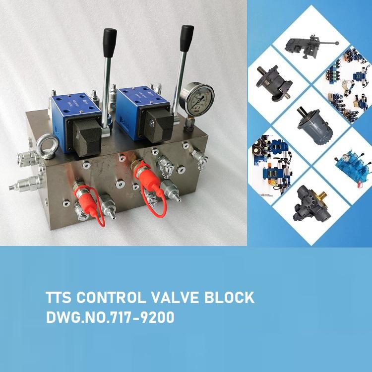 TTS CONTROL VALVE BLOCK DWG.NO.717-9200